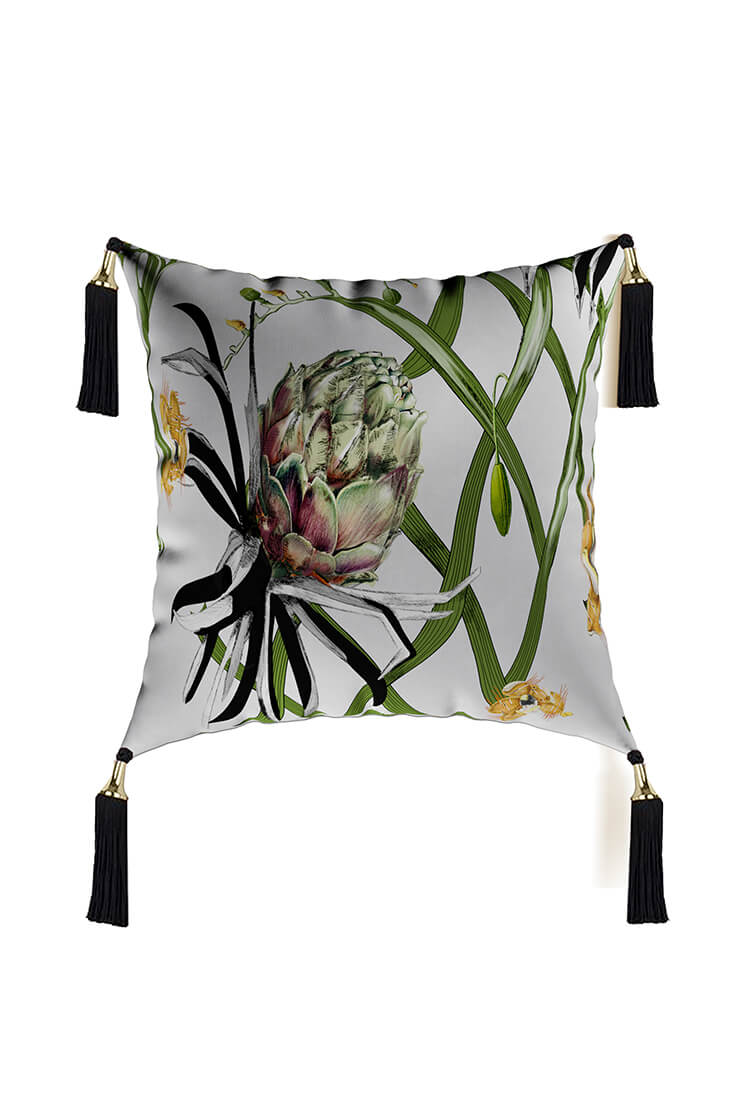Artichoke Cushion for refined and exotic look