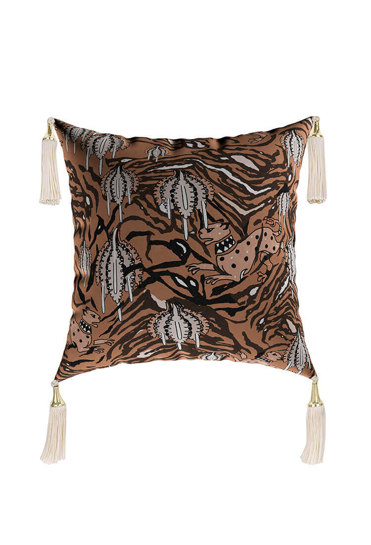 Iron Tiger Cushion for any modern interiors