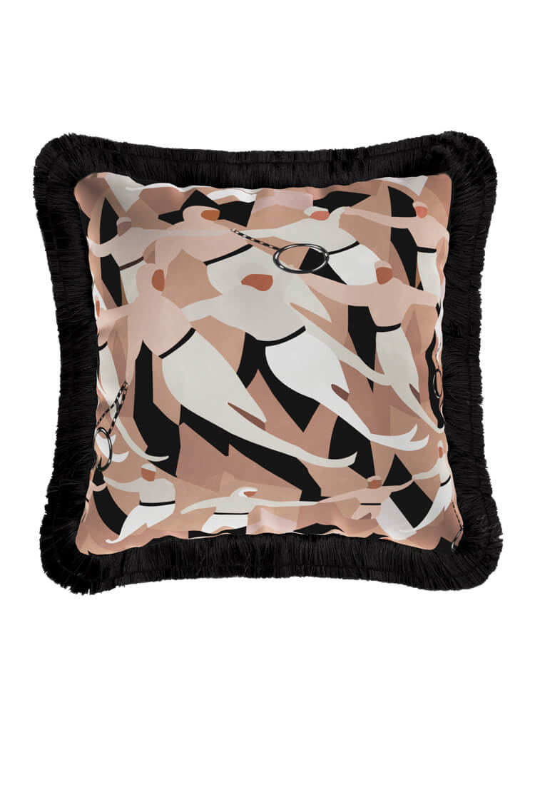 Circus cushion offers comfort and a modern style